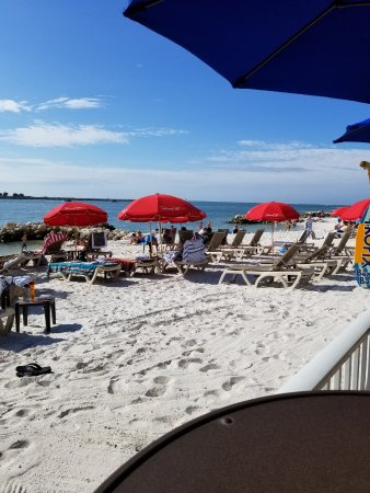 Quality Hotel Clearwater Beach Resort: view from the on site beach bar