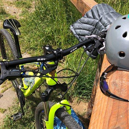 Circuito chico en bici