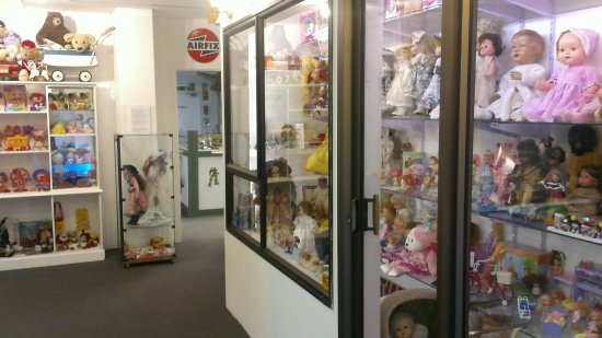 Another Of The Display Cabinets Dolls This Time Picture Of The