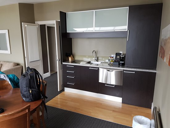 Merveilleux Peppers Beacon Queenstown: Kitchenette In Apartment