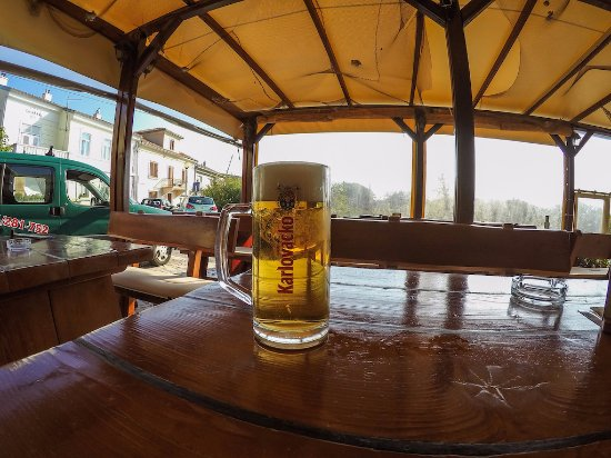 Kraljevica, Croatia: Beer with a view