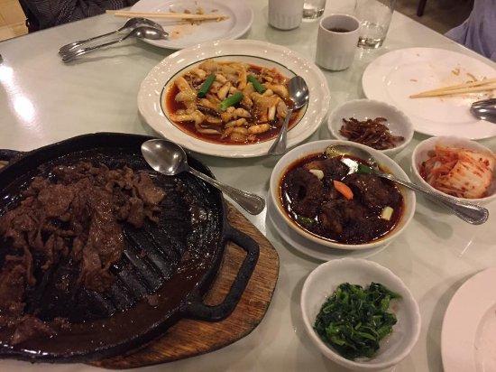 Korea Garden Restaurant : Our food!