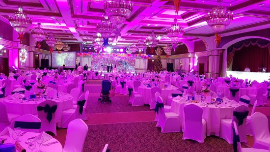 Al Raha Beach Hotel: Ball room for NYE gala dinner