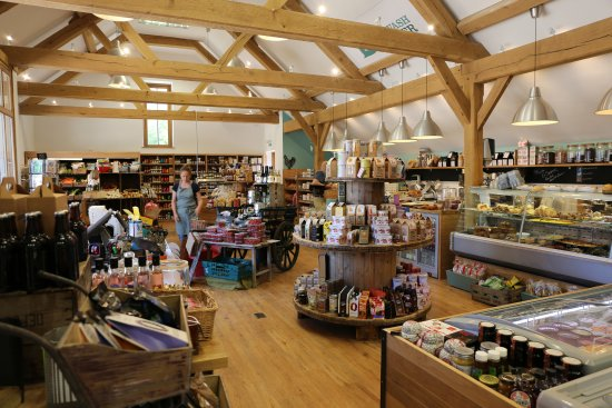 Barton, UK: Burwash Larder - our delicatessen.