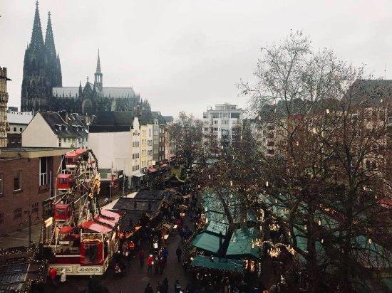 Koncept Hotel Zum kostbaren Blut: View from 405