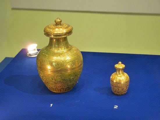 Iksan, South Korea: 仏舎利の入っていた壺