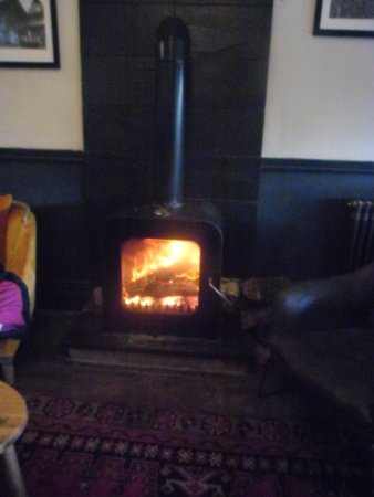 Vale Of Rheidol: woodfire