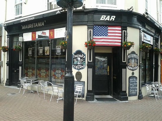 Cobh, Ireland: Mauretania Bar - #thewarmestwelcomeintown