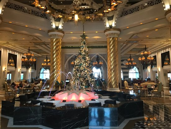 High Tea At The Burj Al Arab The Only 7 Star Hotel In The World