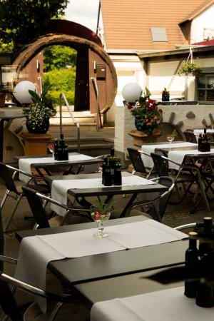 Hemmingen, Alemania: Restaurant Biergarten