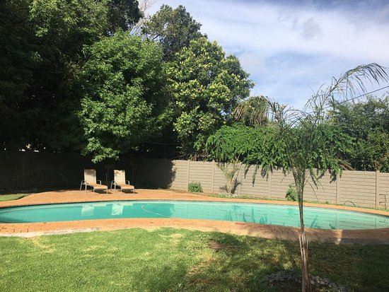 Benoni, South Africa: The pool