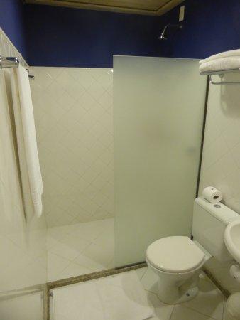 Bahiacafé Hotel: bathroom with shower