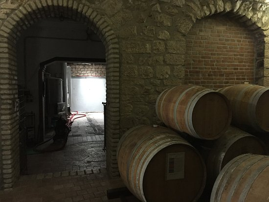 Guardia Sanframondi, Włochy: Cantina locali interni