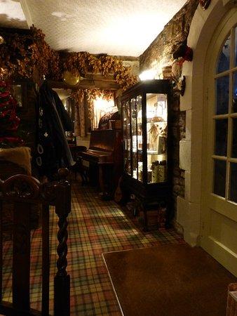 Ravenstonedale, UK: part of the bar area