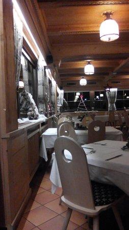 Chalet rifugio al faggio: Sala