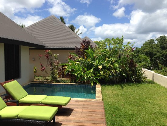 Mangoes Resort : Bungalow 26 - Lagoon View