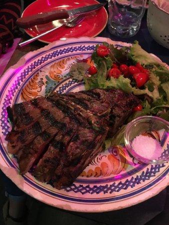 Osteria Santo Spirito: tuscan beef