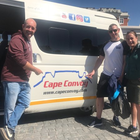 Cape Convoy: Thanks for a amazing trip Rob, hope to get to do it again soon...