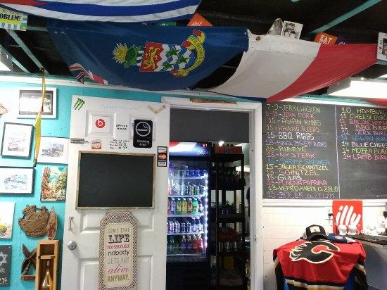 Bodden Town, Grand Cayman: menu