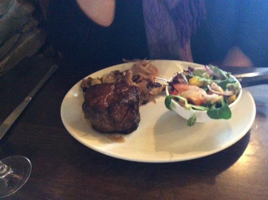 Strandhill, Ιρλανδία: Steak