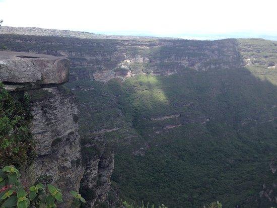 Cachoeira da Fumaca: Vista de cima