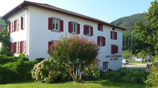 Hotel du Chene : Hôtel Restaurant du Chêne à Itxassou près d'Espelette