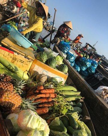 Vinh Long Province, เวียดนาม: Fresh veg