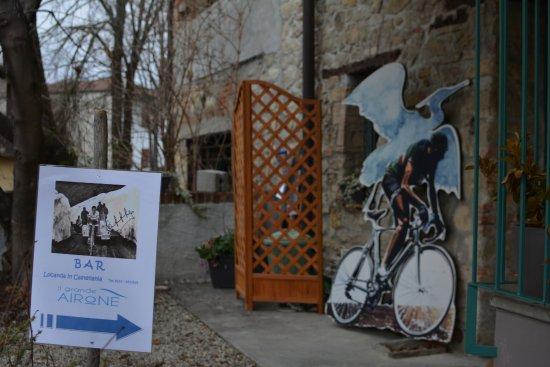 Castellania, Italia: L'ingresso