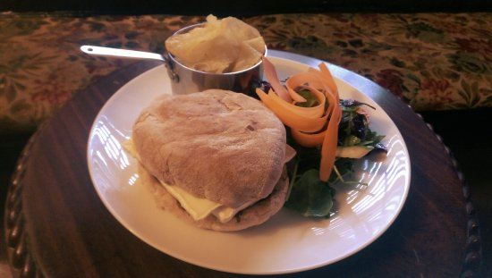 An Example Of Our Ciabatta Sandwiches At Lunch Foto Van