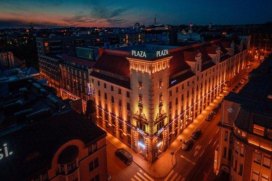 Radisson Blu Plaza Hotel, Helsinki: Hotel Facade