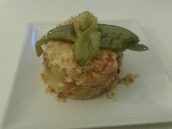 Mocejon, Spanje: tortilla pimientos
