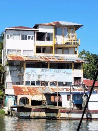 Rio Dulce, Gwatemala: Livingston.
