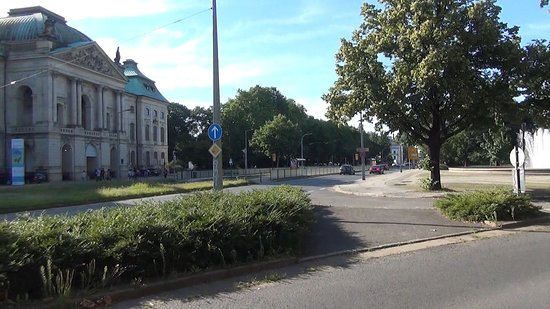 Fontäne Palaisplatz