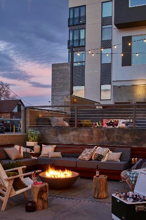 Moxy Denver Cherry Creek Beer Garden