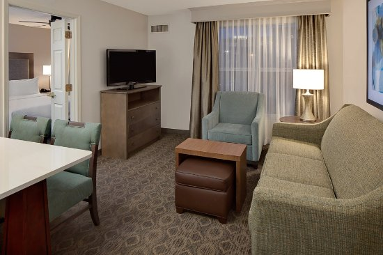 Homewood Suites by Hilton Minneapolis - Mall of America: One Bedroom Suite - 1 King Bed with Living Room *Queen Size Sofa Sleeper & Kitchen