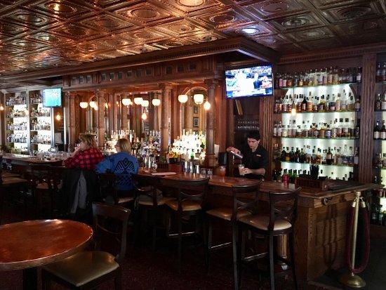 Cascades Restaurant At The Stanley Hotel Bar