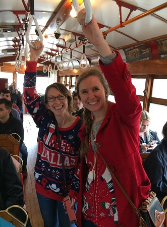 Food Tours of America: You get to ride in a vintage Trolley!