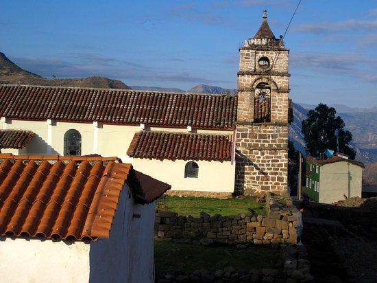 Vilcashuaman, Peru: la torre de la Catedral