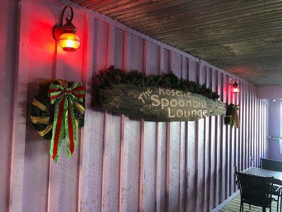 Apalachicola River Inn: Upstairs Bar Area