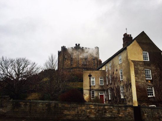 Durham Castle: Castle in the mist