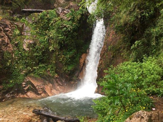 Cascada La Virgen