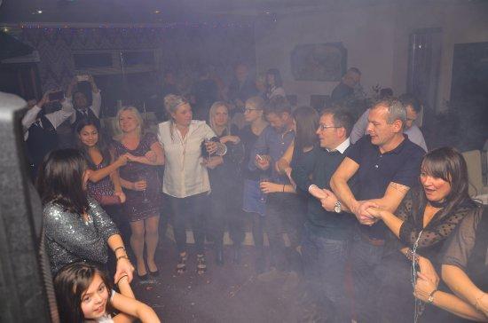 Deanshanger, UK: New Years Eve Celebration