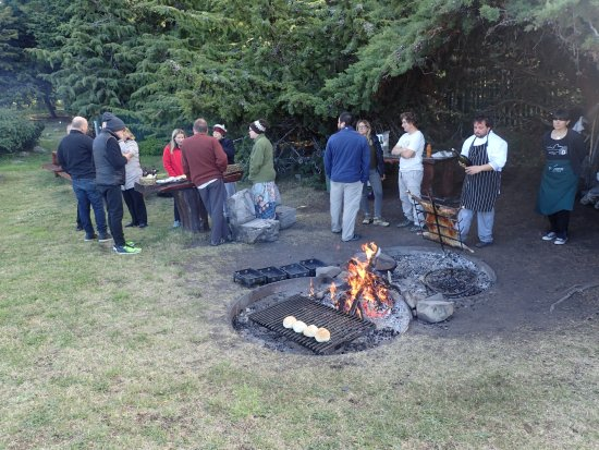 Helsingfors: pig roast and dining al fresco