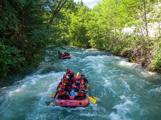 Whistler, Canadá: Green River Rafting.