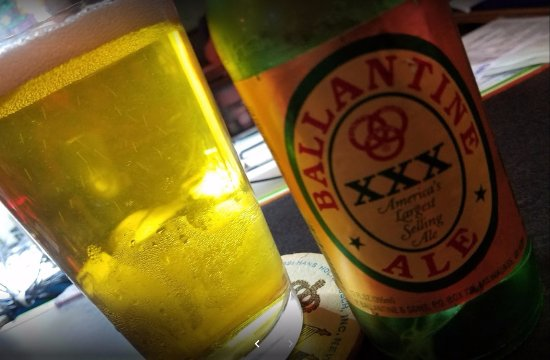 Mount Carmel, PA: Ballantine from the cooler