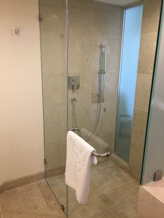Sheraton Buganvilias Resort & Convention Center : Brand new big shower