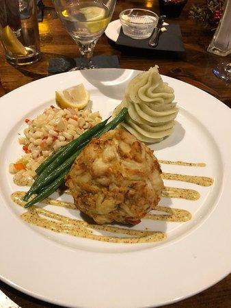 Macungie, Pensilvanya: Jumbo lump crab cake