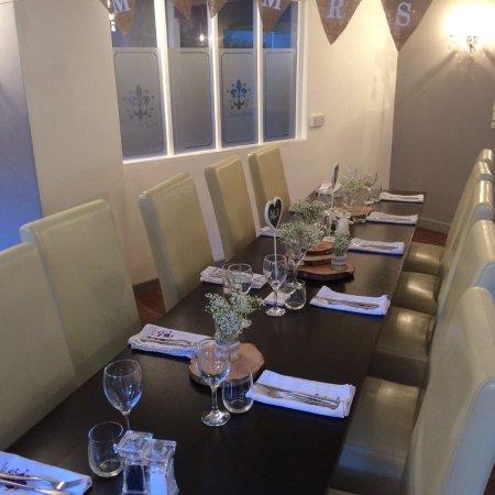The dining room sherborne omd men om restauranger for The dining room sherborne