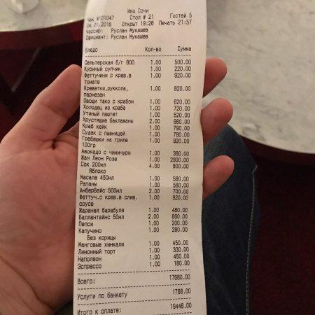Хороший ресторан, но странный банкетный сбор.... :-(