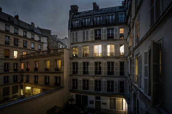 A Room in Paris: View from my window.